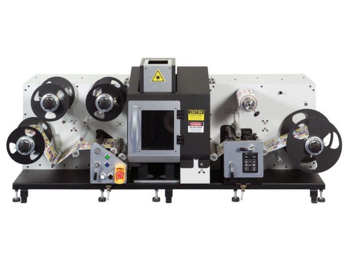Etiketten-Finishingsystem ANYCUT Laserstanze