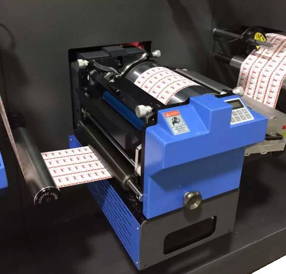 UV-Lakierwerk Etiketten-Finishingsystem